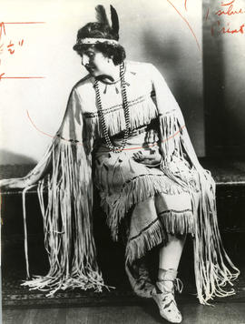 Mildred Valley Thornton as Owas-ka-ta-eskean (Cree)