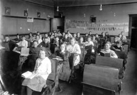 Division 3 students seated in classroom at Lord Tennyson School