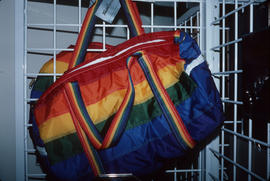 Colourful bag on display at Park Royal