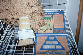 U.S. rice industry display at Park Royal