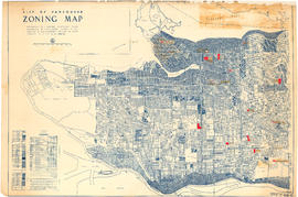 Zoning Map: City of Vancouver, British Columbia