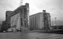 Old Buckerfield Plant [being demolished at the foot of Rogers St.]