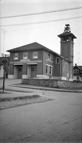 No. 9 Fire hall [Corner of Charles St. and Salsbury Dr.]