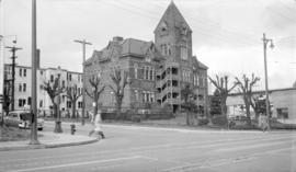 Old High School [Vancouver Art School - corner of Cambie and Dunsmuir Streets]