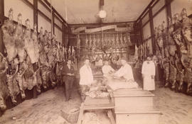 [Interior of British Columbia Cattle Co. Limited - 202 Carrall Street]