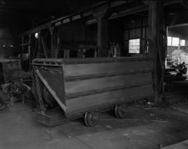 [Rail cart possibly for use in the mining industry at Vancouver Engineering Works]