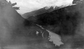 The canyon of the Fraser