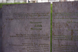 AIDS Memorial installation