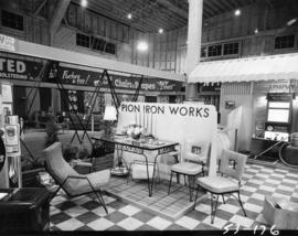 Canada's First Building Centre display of Pion Iron Works furniture