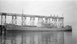 S.S. 32 Callao [at dock]