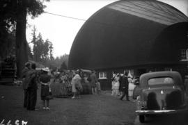 [Theatre Under the Stars performers behind Malkin Bowl]