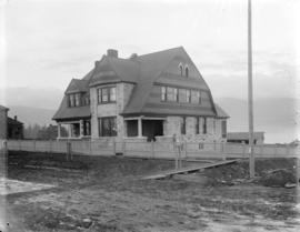 [J.M. Browning residence (later the upper portion of Glencoe Lodge) at northwest corner of Georgi...