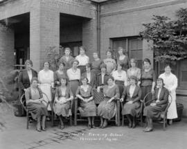 Gossard Training School Vancouver B.C. July 1921