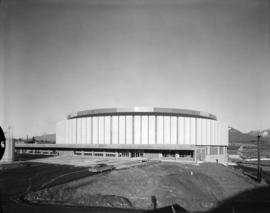 Exterior of Pacific Coliseum