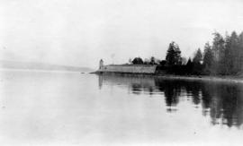 Brockton Point, Stanley Park from water