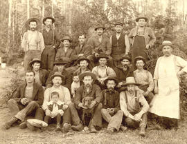 Logging camp group in B.C., Vancouver area