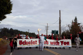 Day 003, torchbearer no. 136, Al Greir - Ucluelet