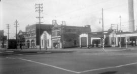 Standard Gas Station - Main and Georgia Sts.