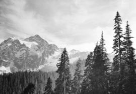 [View of Mount Shuksan from the road to Mount Baker]