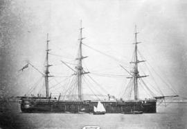 "H.M.S. ""Zealous"" Plymouth Sound - 1866"