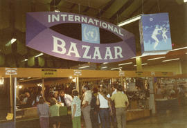 1972 P.N.E. International Bazaar in Pacific Showmart building
