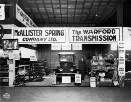 McAllister Spring Co. display of the Warford Automobile Transmission