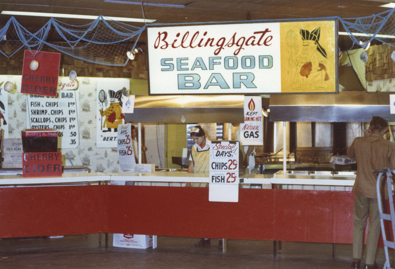 D Printing Exhibition Billingsgate : Billingsgate seafood bar concession city of vancouver archives