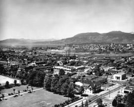 [View of Fairview looking west from City Hall]