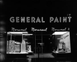 [Exterior view of a General Paint store]
