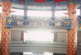 Interior of Calgary Chinese Cultural Centre