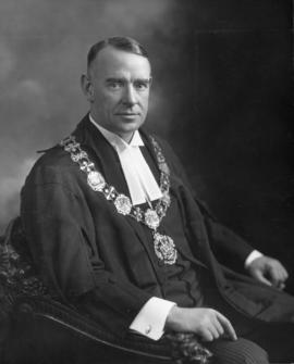 His Worship G.G. McGeer, Mayor of Vancouver, 1935-1936