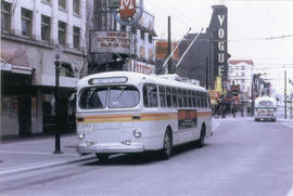 [B.C. Hydro bus - No. 6 Renfrew on Granville Mall]