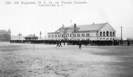 6th Regiment, D.C.O., on Parade Grounds