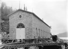 [Exterior of power house for Buntzen Lake Power Plant number one]