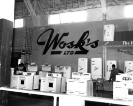Wosk's Ltd. home appliances display booth