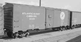 Atlantic and East Carolina [Railway Boxcar #1039]