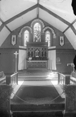 Interior of Anglican Church