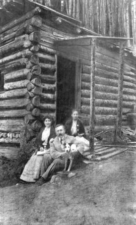 [Trythall's cabin on Grouse Mountain]