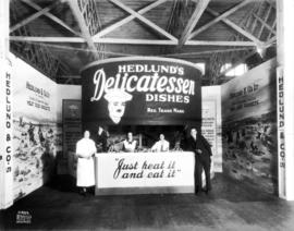 Hedlund and Co. display of meat products