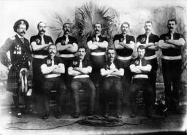 Scotch Team, Winners of International Tug-of-War Tournament, San Francisco