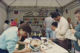 Imagination Market craft tent