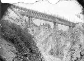 Stoney Creek Bridge, (Ht. 296 ft.) Selkirks, C.P.R.