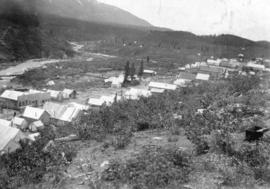 [View of Atlin during the Klondyke Rush]