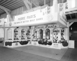 [Pierre Paris Shoes booth at the] Canadian Pacific Exhibition