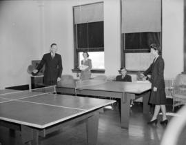 Hudson Bay Company [staff playing] ping-pong