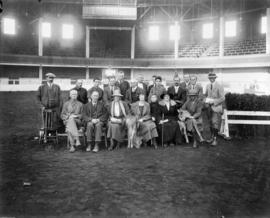 Group photograph of Jersey cattle breeders