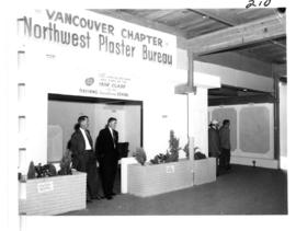 Northwest Plaster Bureau, Vancouver Chapter display