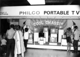 Philco Portable Television display booth