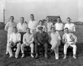 Army & Navy C[ricket] C[lub] - winners [of the] Creham Cup. Season 1921
