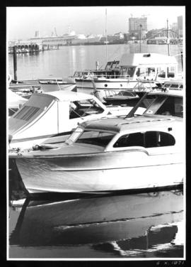 Boats in a Coal Harbour marina